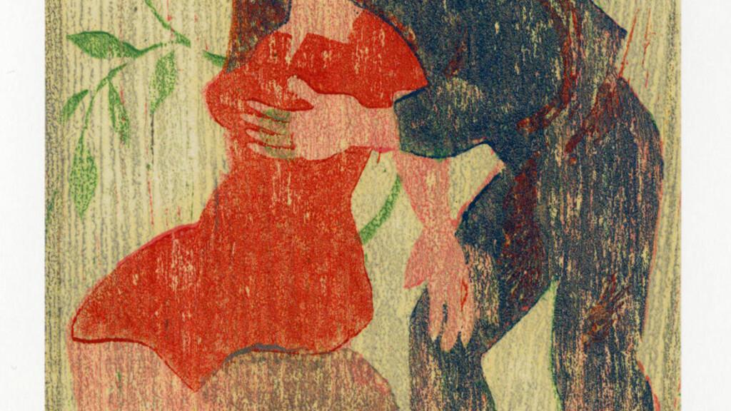 VELLYST: Thorbjørn Egner lagde i 1943 en mappe med erotiske tresnitt under tittelen «Lystige historier».