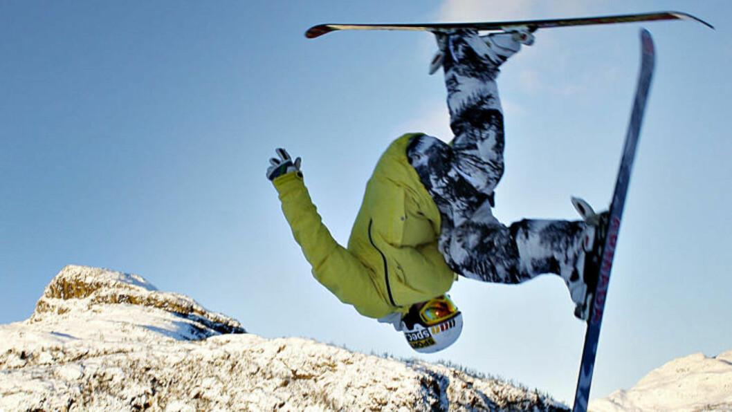 <strong>JANUAR:</strong> I bakkene i Hemsedal er det alltid aktivitet. Foto: OLE C. H. THOMASSEN