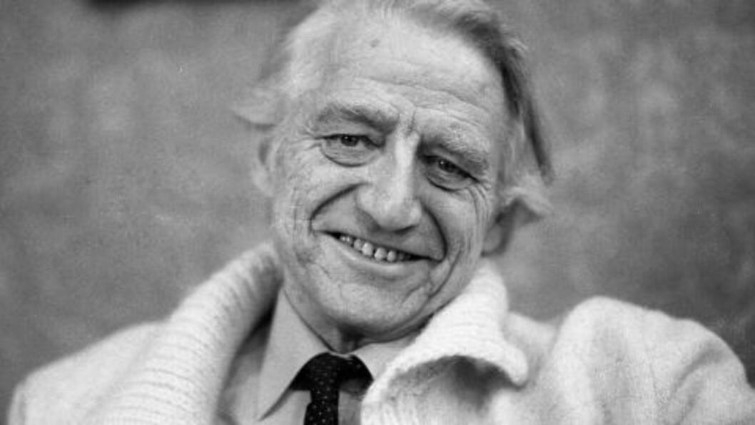 <strong>KJENT OG KJÆR:</strong> Thorbjørn Egner var en norsk tegner, forfatter, visedikter og komponist. Han har skrevet bøker for både voksne og barn, men er først og fremst kjent for sine fortellinger og teaterstykker for barn, særlig Karius og Baktus, Dyrene i Hakkebakkeskogen og Folk og røvere i Kardemomme by. Egner ble 78 år gammel. Foto: Ole C. H: Thomassen / Dagbladet.