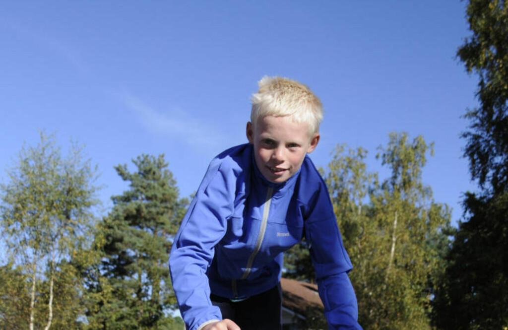 DØDE ETTER PÅKJØRSEL: 12 år gamle Olav Hovda døde av skadene han pådro seg etter en påkjørsel fredag kveld. FOTO: PRIVAT