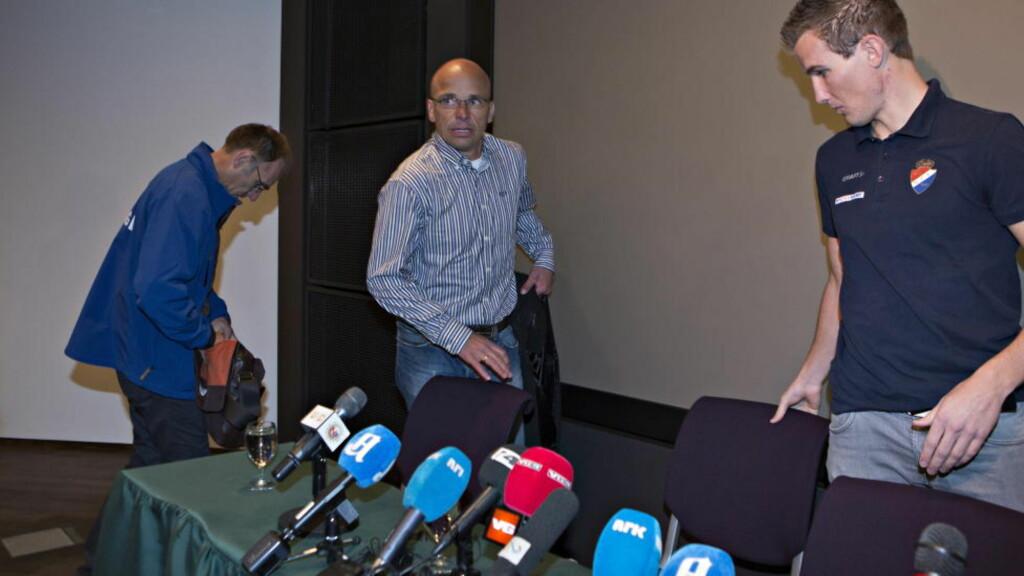 YDMYKELSEN:  Steffen Kjærgaard på vei til den vonde bekjennelsen. Han er bare en av lederne som har sviktet. FOTO: Torbjørn Berg / Dagbladet.