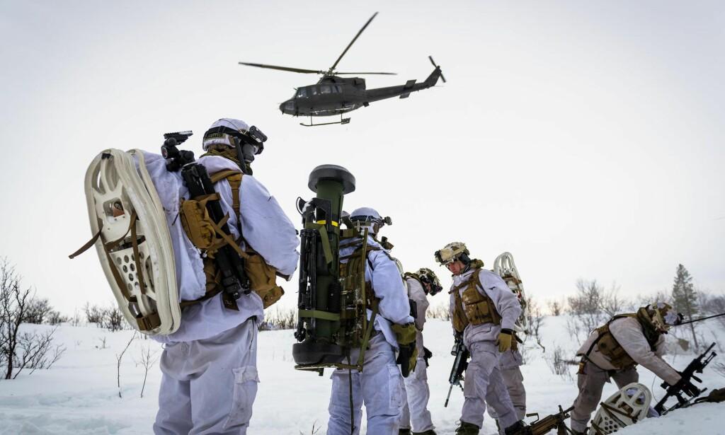 FORSVAR: SV vil kreve en sterkere prioritering av nordområdene, skriver partisekretæren. Foto: Ole-Sverre Haugli / Hæren / Forsvarets mediesenter / NTB Scanpix