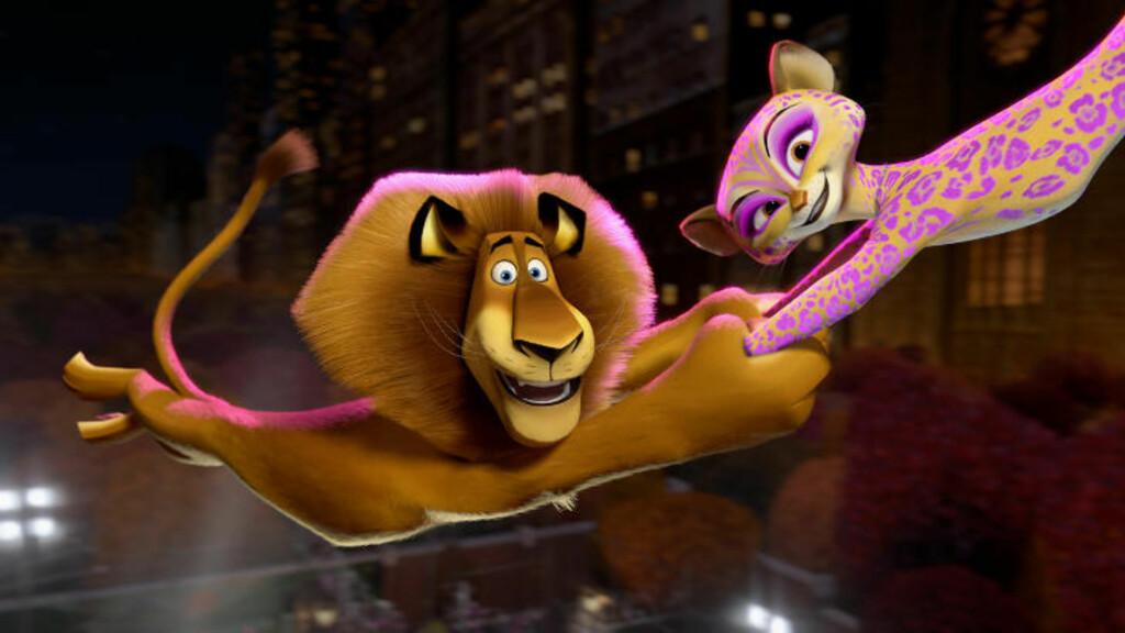 ANIMASJONSFILM: Barna trodde de skulle få se animasjonsfilmen «Madagaskar 3», men fikk i stedet servert den skrekkfilmen «Paranormal Activity 4». Foto: Scanpix