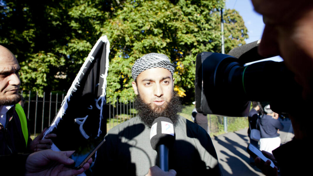 MÅ TAS PÅ ALVOR: Ubaydullah Hussain er leder for gruppen «Profetens Ummah». Foto : Sara Estiri/ Dagbladet