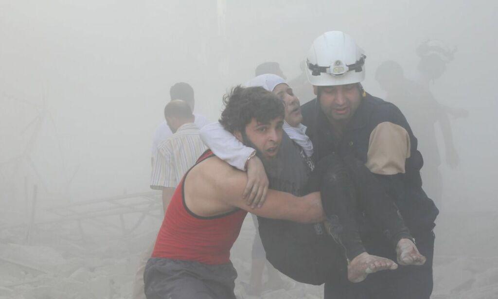 image: De hvite hjelmene i Syria har verdens farligste jobb