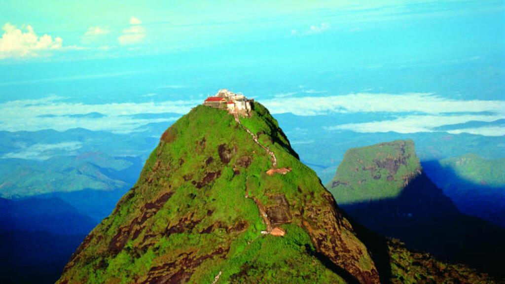 SRI LANKA: Lonely Planet har kåret Sri Lanka til det beste landet å reise til i 2013. Her er Adams Peak. Foto: SRI LANKA TRAVEL