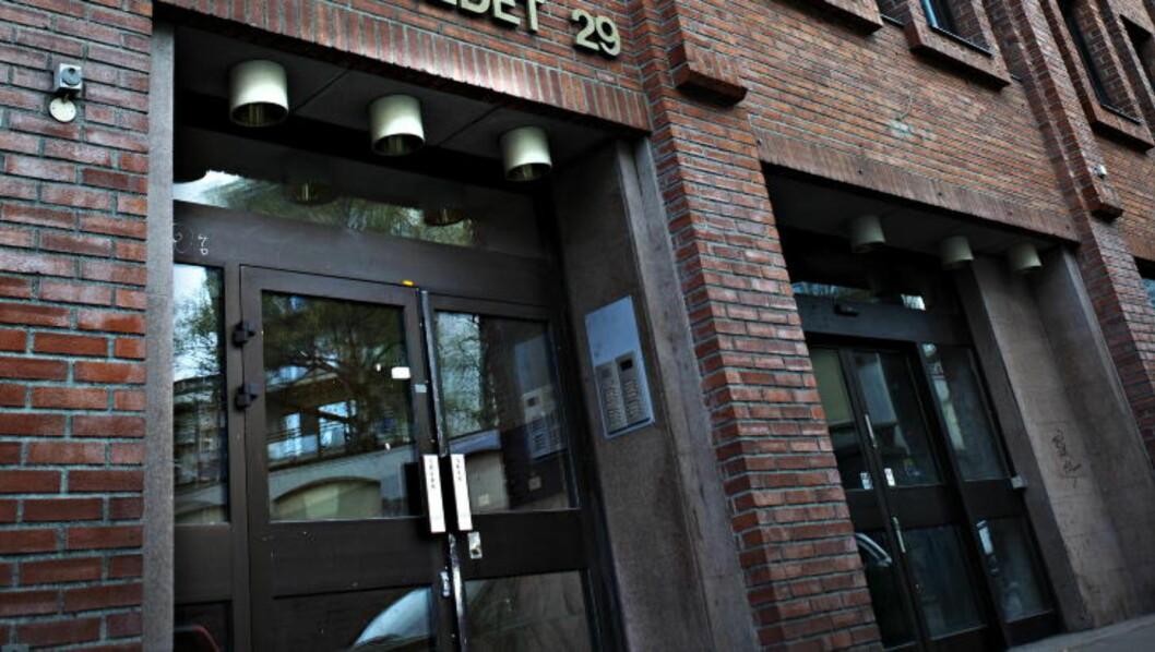 <strong>STORE VERDIER:</strong> Lokalene til SOS Rasisme i Pilestredet 29 i Oslo er etter det Dagbladet kjenner til taksert til rundt 11 millioner kroner. De ble kjøpt for 5,9 millioner på 2000-tallet. De blir lagt ut for tvangssalg i høst. Haugesund SOS Rasisme eier eiendomsmasse kjøpt for 2,1 millioner på 2000-tallet. Foto: Nina Hansen / Dagbladet