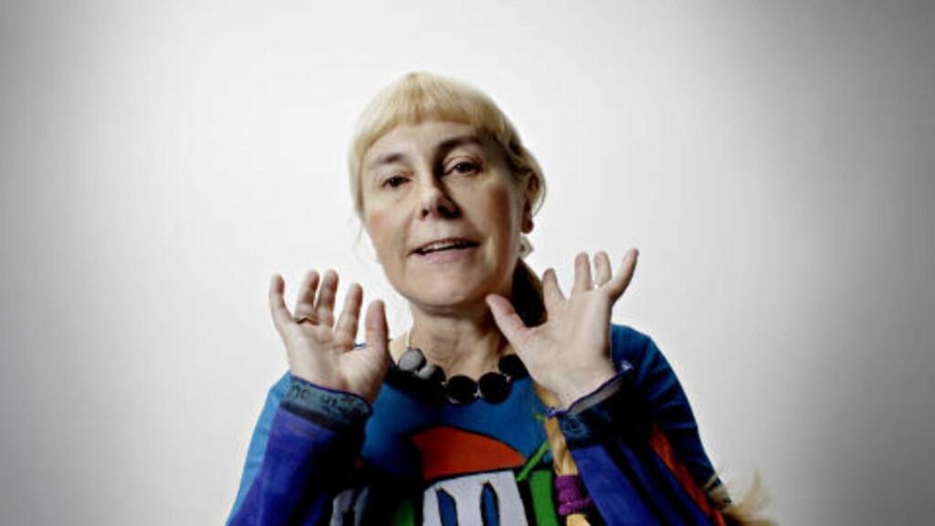 INTERVJUER MED BALLAST: Forsker og miljøfilosof Nina Witoszek møtte Eva Joly før de begge gjestet Arne Næss-symposiet i går. Foto: Lars Eivind Bones / Dagbladet