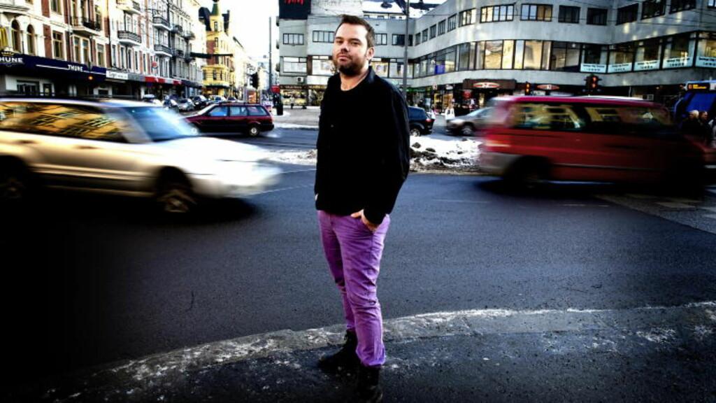 REAGERER: Bård Nylund, leder av Landsforeningen for lesbiske, homofile, bifile og transpersoner (LLH), reagerer på uttalelsene til Linstad. Foto: Øistein Norum Monsen/DAGBLADET