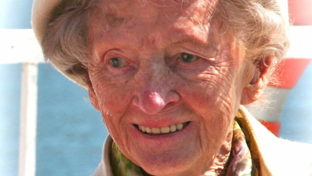 DREPT: Hilda Feste (98) ble drept om kvelden 1. januar i år. Foto: Privat
