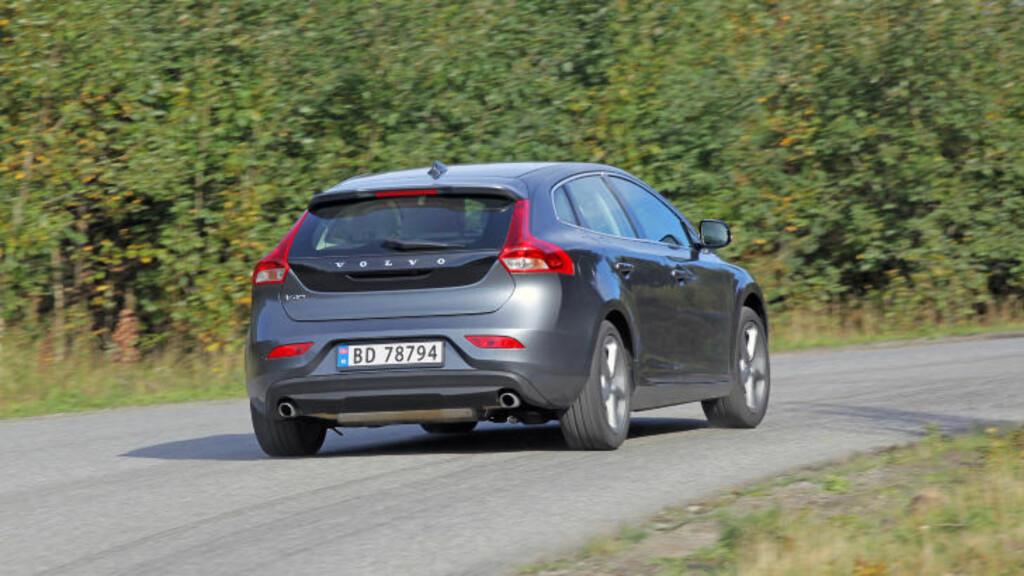 KJEMPER I TOPPEN: Volvo V40.