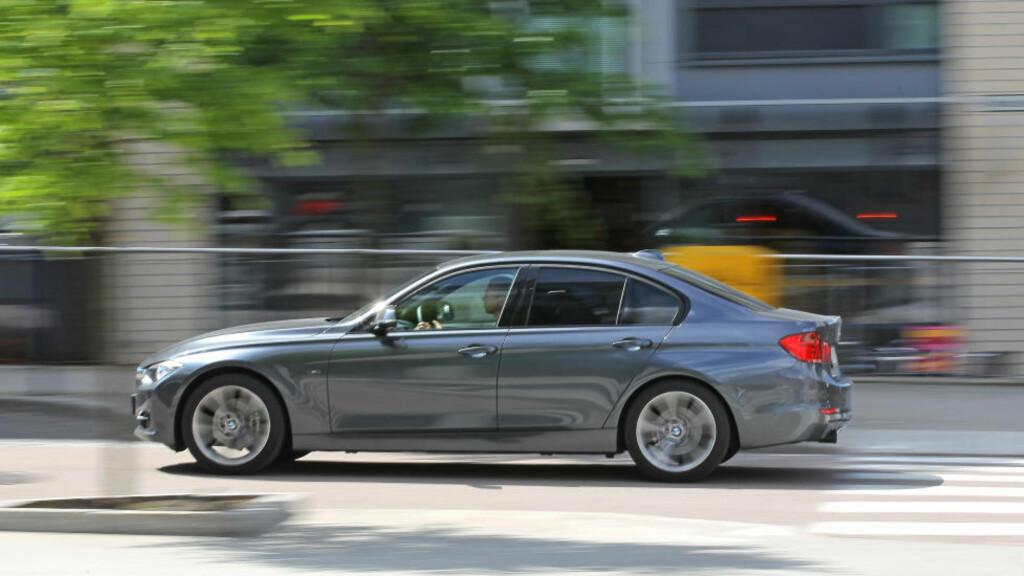 I LEDELSEN: BMWs nye 3-serie. Foto: BMW