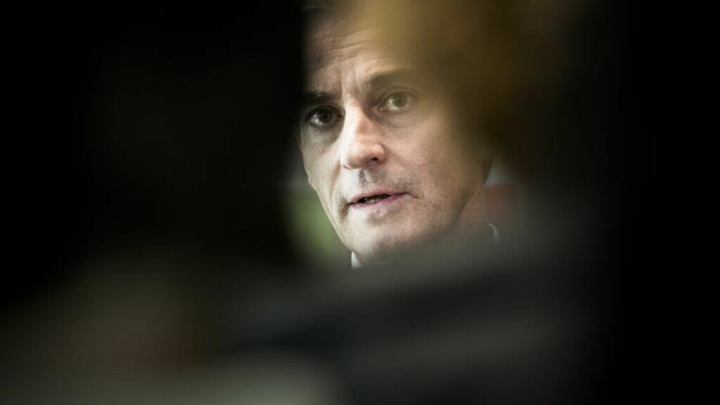 «INTERVJUET:» Utenriksminister Jonas Gahr Støre.  Foto: Håkon Eikesdal
