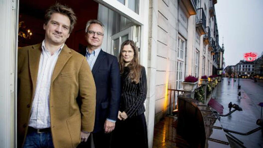 <strong>NOBEL JURY :</strong> Dagbladets fredsprisjury består av  Halvard Leira, Kristian Berg Harpviken  og Cecilie Hellestveit. Foto: Bjørn Langsem / Dagbladet.