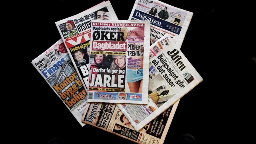 ØKTE OPPLAGET: Som en av få aviser økte Dagbladet papiropplaget i fjor. I år faller det igjen - og avisa må kutte kostnader. Foto: Steinar Buholm / Dagbladet.