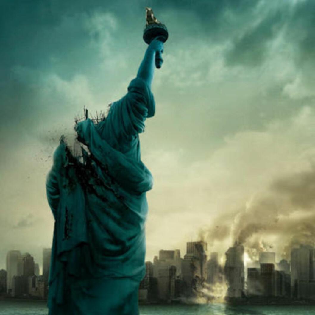 <strong> Monsterfilm:</strong> I «Cloverfield» er det New York som får kjørt seg.