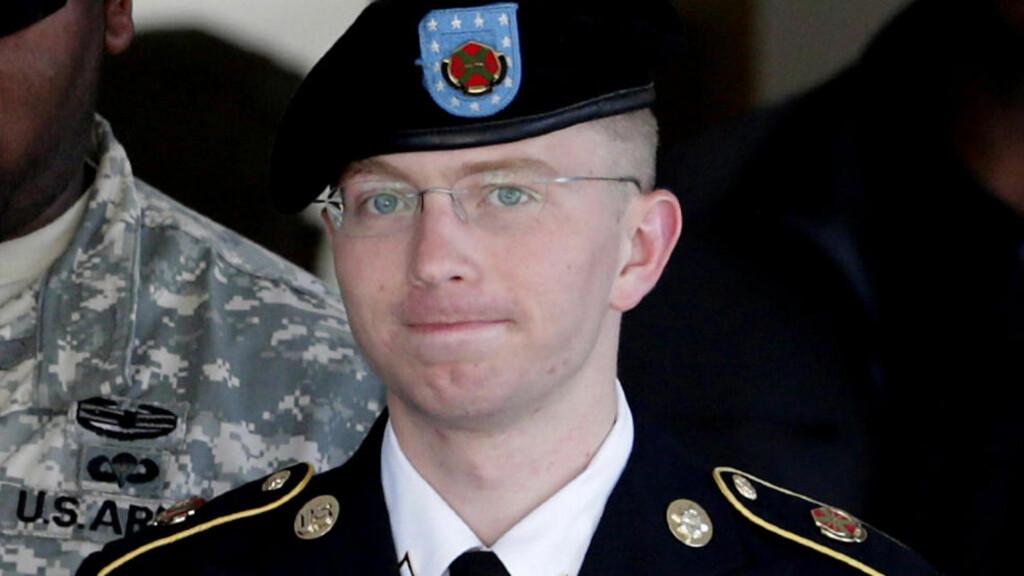 NERVØS: Bradley Manning forklarte seg for en dommer i dag. Han er tiltalt for å ha lekket hemmeligstemplet materiale til Wikileaks. Foto: AP / Patrick Semansky / NTB Scanpix