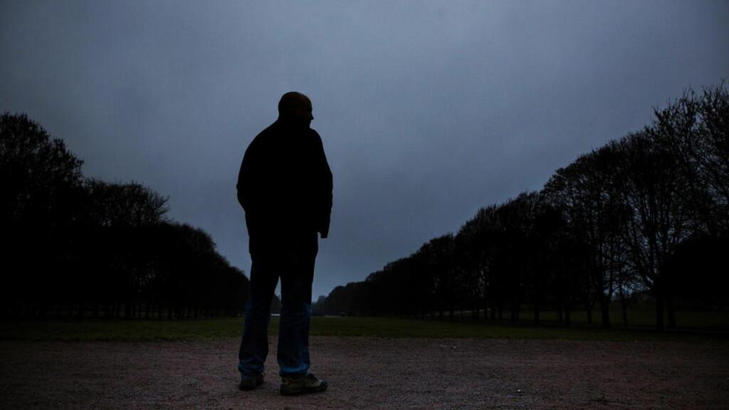 Martin Waage i APB Group sier at han flere ganger har blitt truet etter å hentet bortførte barn. Han ønsker derfor ikke å oppgi alder, vise ansiktet sitt eller si noe om bakgrunnen sin.  Foto: Jørn H. Moen / Dagbladet