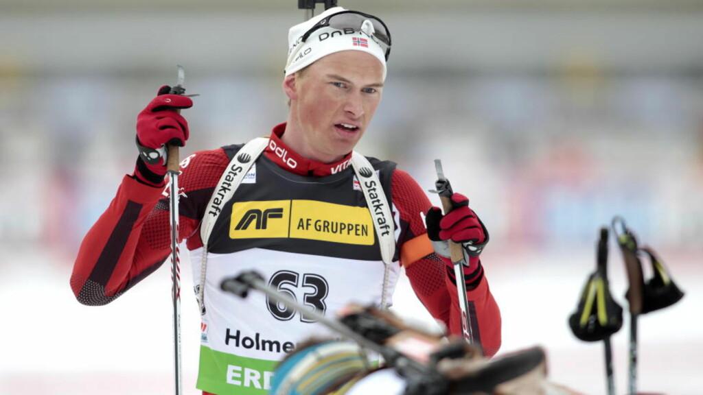 KARRIEREBESTE: Henrik L'Ábée-Lund pådro seg én strafferunde og holdt god fart i sporet. Det holdt til femteplass. Foto: Gorm Kallestad / Scanpix