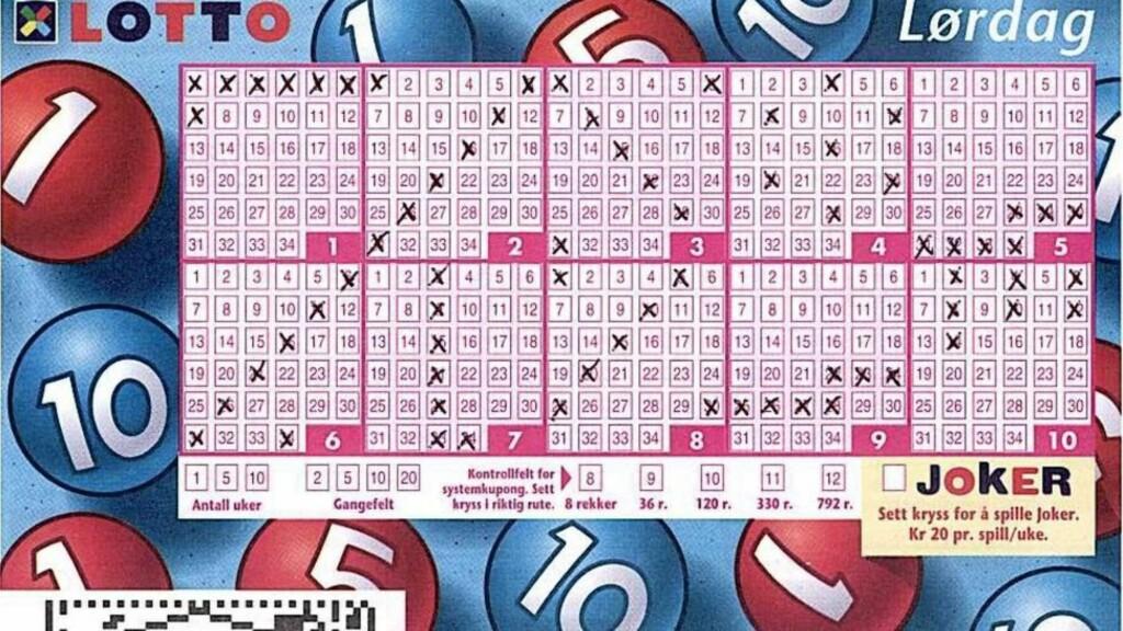 ENESTE VINNER: Mannen fra Førde var den eneste som hadde sju rette i Lotto i kveld. Illustrasjon: NORSK TIPPING  / SCANPIX