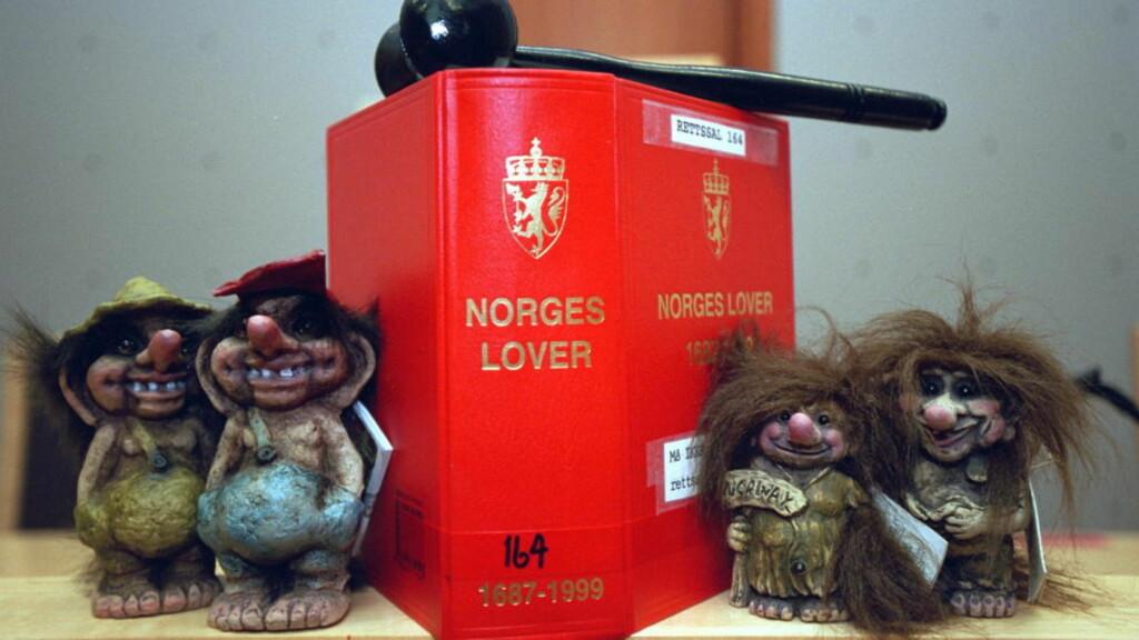 NORSK RETTSSTAT: Selv om Norge kommer høyt på kåringen, er vi bare nummer 11 i lov og orden. Singapore og Hongkong er blant landene som slår oss.