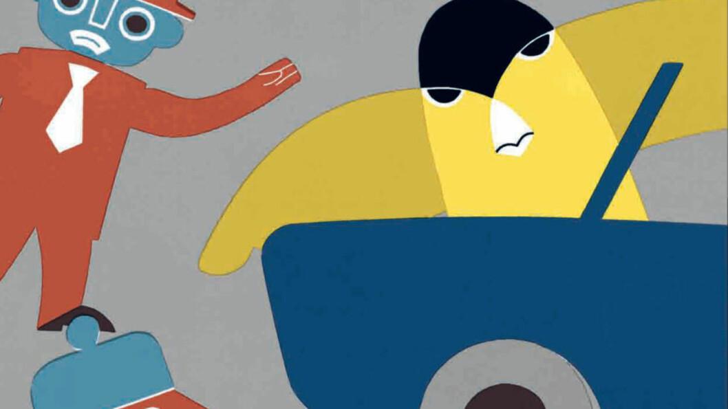 <strong>IKKE BARE TIL PYNT:</strong> En av tingene barnebokanmelderne er mest begeistret i år, er de kreativt illustrerte bøkene. Både Kari Stais «Jakob og Neikob» og Øyvind Torseters «Hullet» skiller seg ut i den forstand. Illustrasjon: Kari Stai.