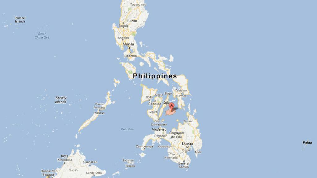 kart filippinene Nordmann drept på Filippinene   Dagbladet kart filippinene