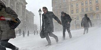 image: - Vi er snødd inne