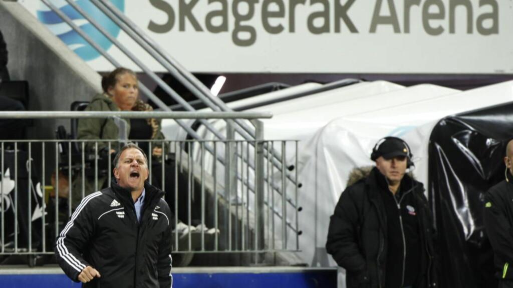FERDIG: RBK vil trolig annonsere RBK-trener Jan Jönssons avgang i kveld. Foto: Trond Reidar Teigen / NTB SCANPIX