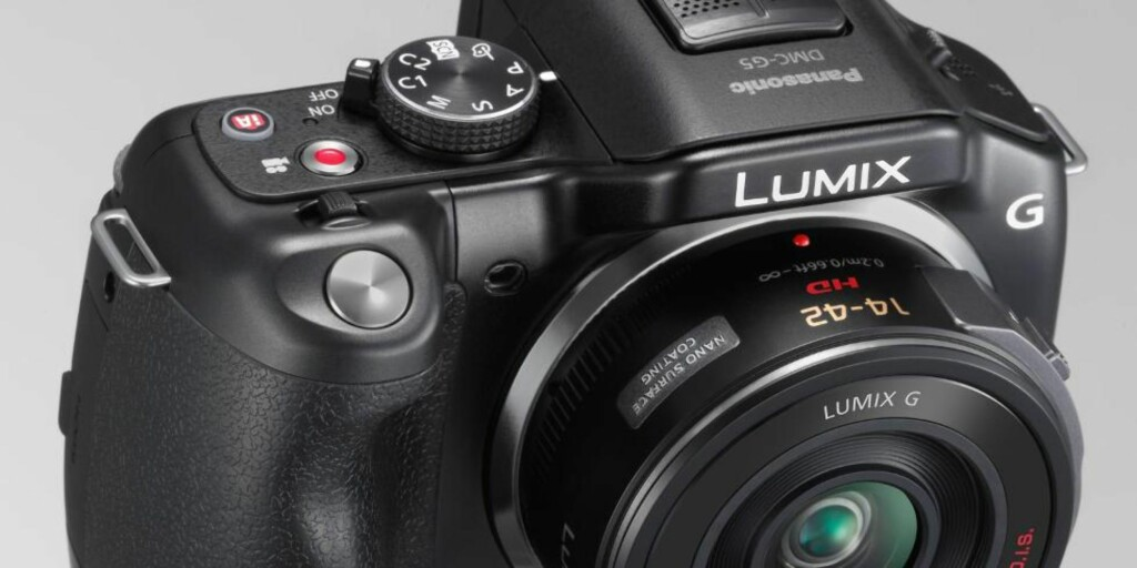 HYBRID: Hybridkameraene tilbyr noen fordeler ovenfor tradisjonell speilreflekskameraer. Foto: Panasonic