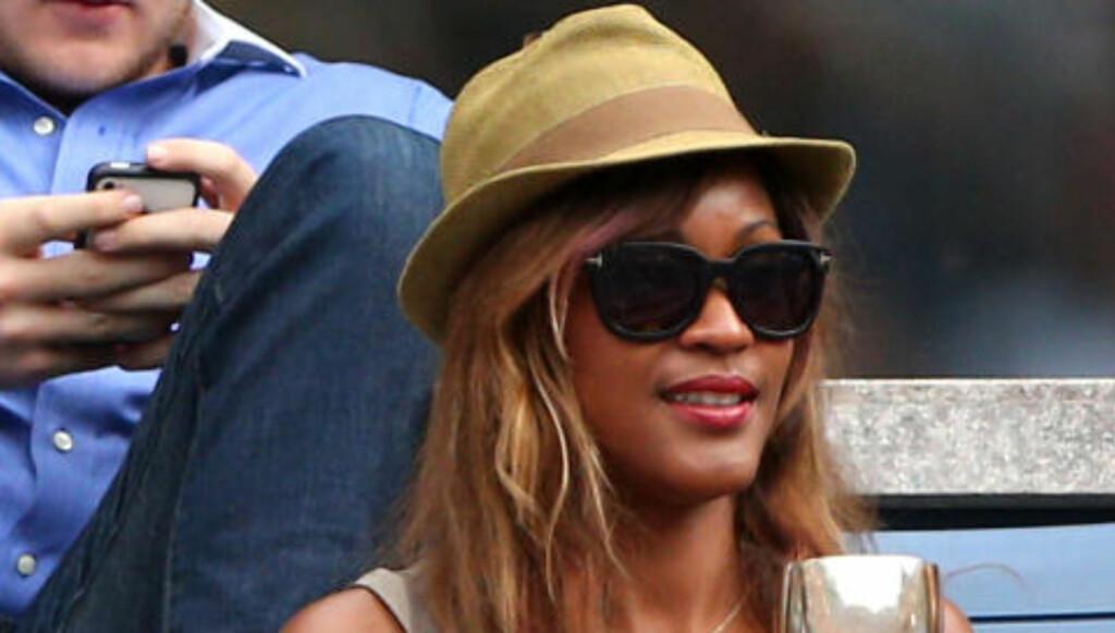 SAMARBEIDET MED WROLDSEN: Den barbadiske artisten og Rihanna-venninna Shontelle var den første som ga låta «Impossible» internasjonal suksess. Låta er blant Shontelles aller største. Foto: Cameron Spencer / Getty Images / AFP / NTB scanpix