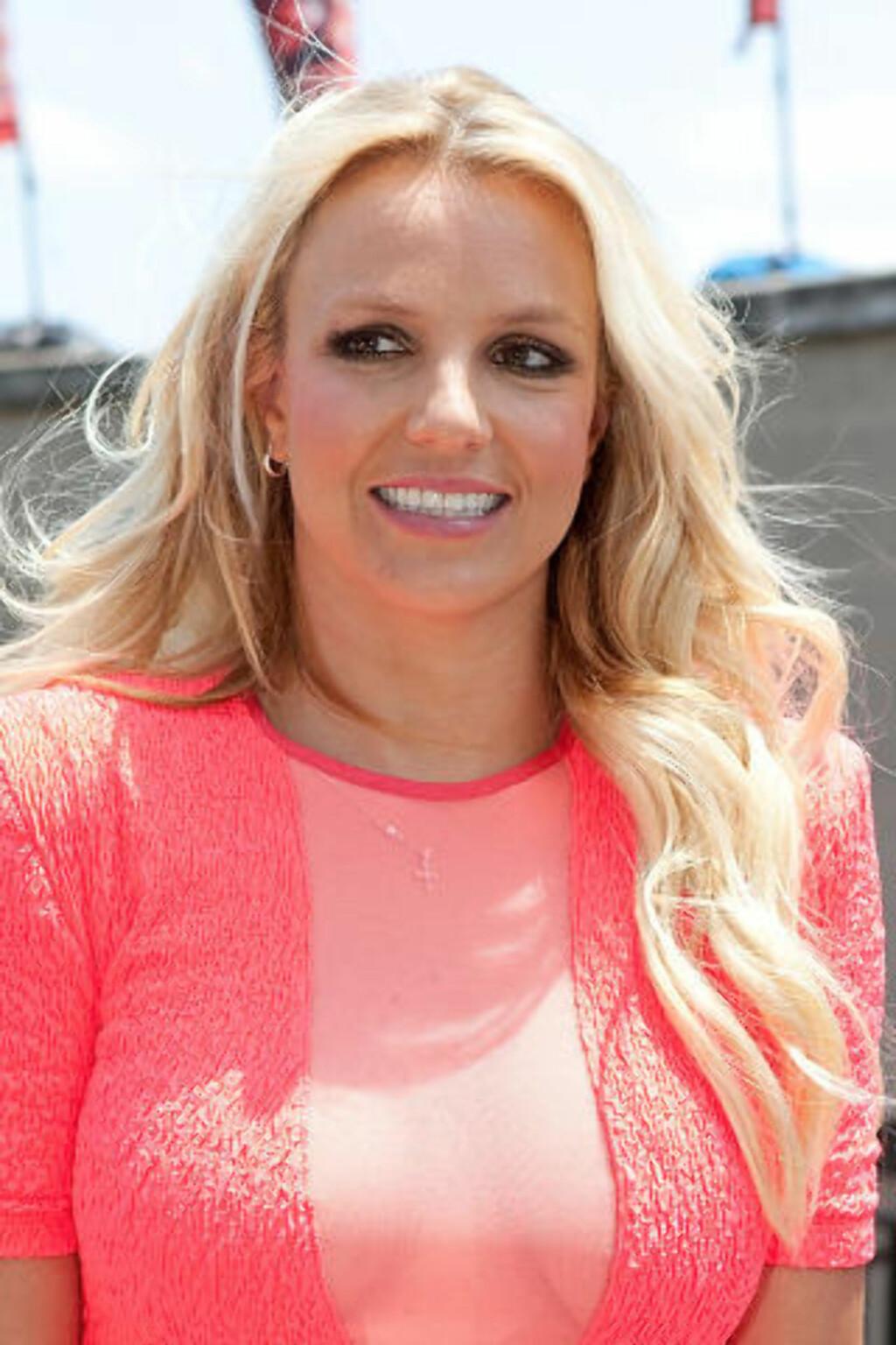 SAMARBEIDET MED WROLDSEN: Ina Wroldsen skrev én av låtene som er å finne på Britney Spears nyeste album. I sommer ble den norske låtskriveren kalt til Los Angeles for å fortsette samarbeidet med pop-prinsessa. Foto: Rick Kern / Getty Images / AFP / NTB scanpix
