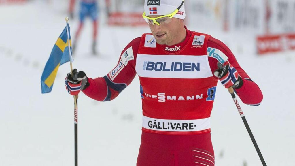 SATSER BÅDE PÅ TOUREN OG VM: Petter Northug ønsket seg et lite Tour-lag og fikk det som han ville det. Foto: AFP  / SCANPIX / JONAS EKSTROMER