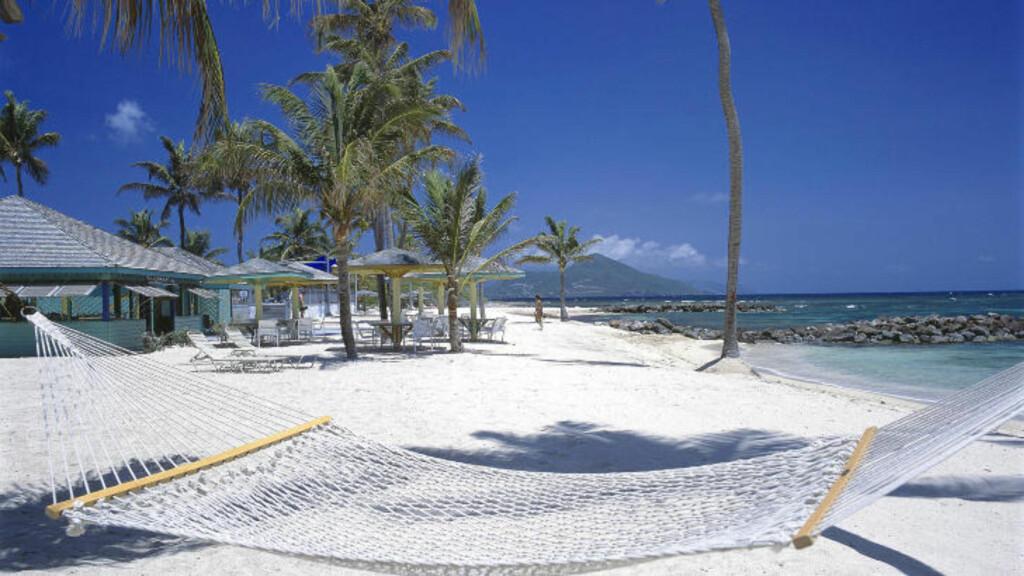 FØRSTEPLASSEN: Condé Nast Travelers lesere har kåret de beste av de eksklusive, karibiske hotellene. Nisbet Plantation Beach Club, på øya Nevis scorer høyest av alle. Foto: NISBET PLANTATION BEACH CLUB