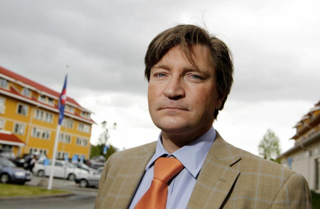 AVBLÅST: Kulturkampen er for lengst avblåst, og Christian Tybring-Gjedde står aleine igjen på banen. Foto: Håkon Mosvold Larsen / Scanpix