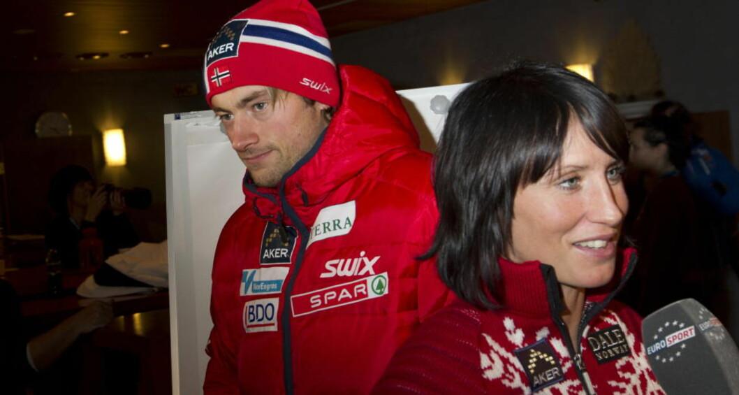 <strong>ØNSKER BJØRGEN GOD BEDRING:</strong> Petter Northug sier Bjørgen er ei fornuftig dame som kommer til å gjøre de rette valgene også nå.  Foto: Terje Bendiksby / Scanpix