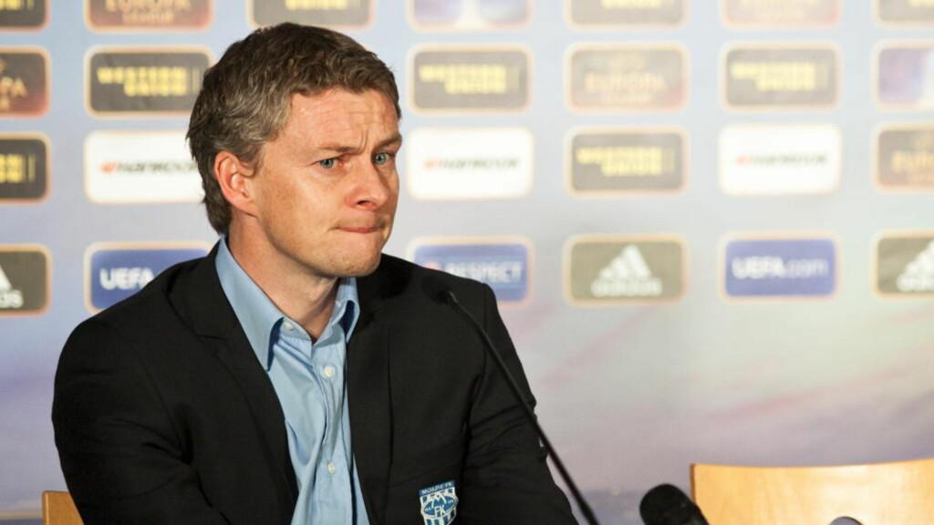 RASKERE I FORM: Ole Gunnar Solskjær har sett seg lei på at Molde roter bort poeng tidlig i sesongen. Foto: Svein Ove Ekornesvåg / NTB scanpix
