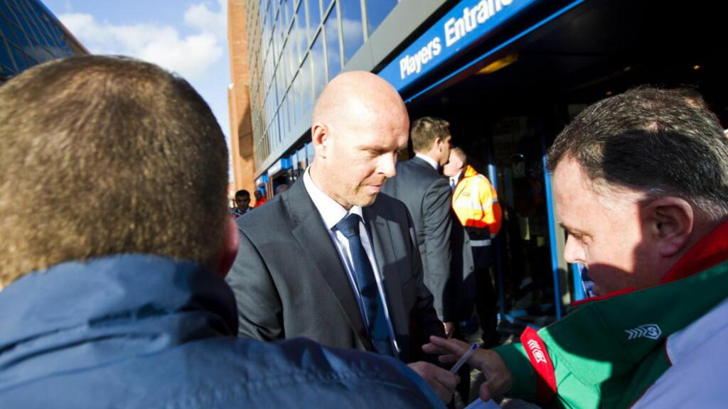KORTVARIG OPPHOLD: Henning Berg varte ikke engang to måneder i Blackburn-jobben. Etter én seier på ti kamper fikk nordmannen sparken i dag.  Foto: Vegard Grøtt / Propaganda Photo  / NTB scanpix