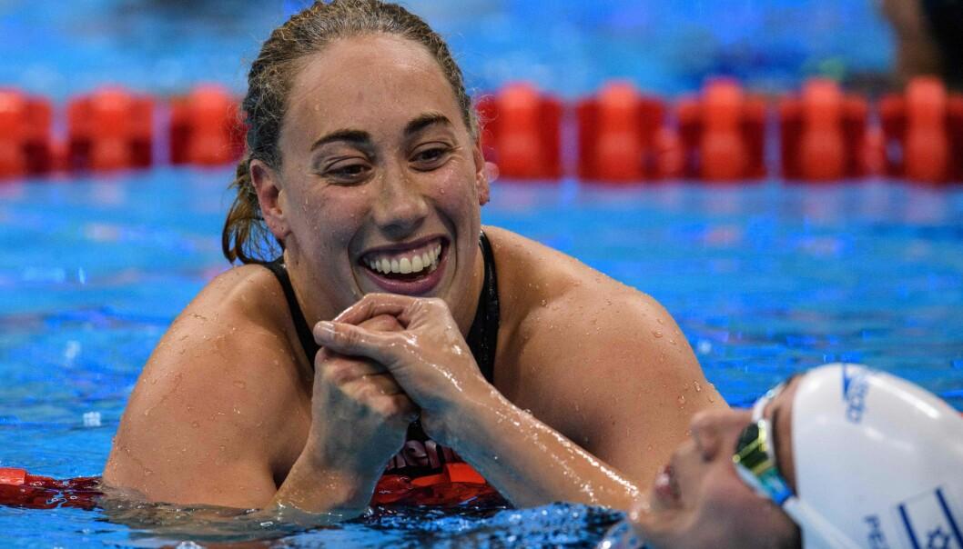 <strong>VIL MER:</strong> Sarah Louise Rung har vunnet fem medaljer i Paralympics i Rio. Nå er hun sulten på mer. Foto: AFP PHOTO / Yasuyoshi Chiba