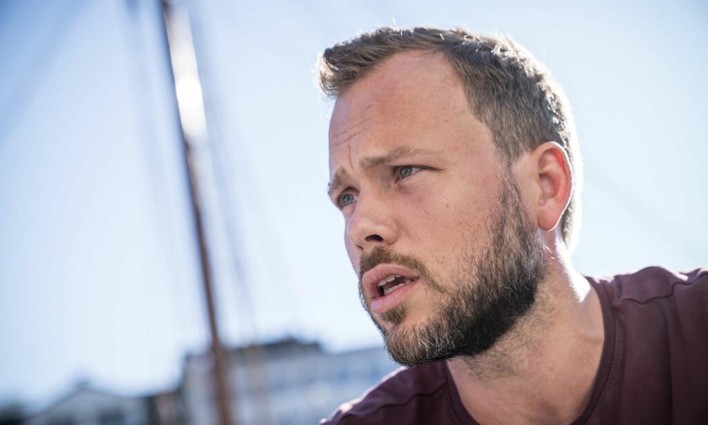 STOLT: Jeg ble stolt av ungdommene da jeg så at de ikke lot seg avspise med noen rundstykker i departementet og noen tomme ord fra Høyre, skriver Audun Lysbakken. Foto: Øistein Norum Monsen / Dagbladet