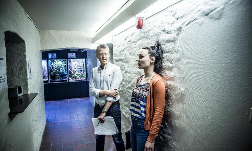 """Utfordrer seg selv: Maja har edderkoppfobi: - Edderkoppangsten min kommer ikke av en spesiell opplevelse. Jeg har bare alltid vært redd for edderkopper, sier hun.&nbsp;<span style=""""background-color: initial;"""">Foto: Thomas Rasmus Skaug / Dagbladet</span>"""