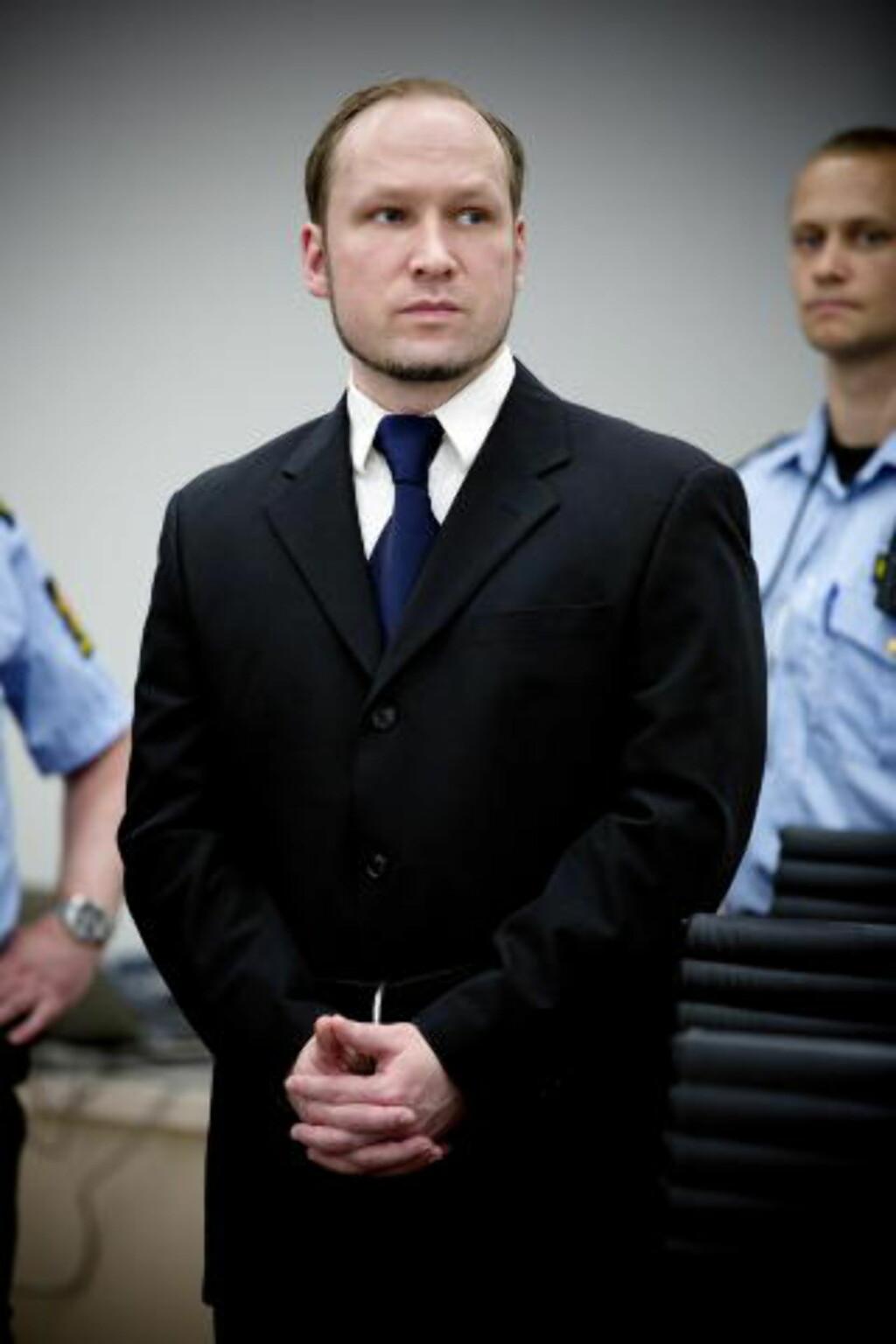 DØMMES PÅ FREDAG: Dommen mot  Anders Behring Breivik forkynnes i Oslo tingrett på fredag. Han har via sine forsvarere uttalt at han vil anke dommen om han blir erklært utilregnelig. Dømmes han som tilregnelig, vil han sone straffen på forvaringsanstalten på Ila fengsel.  Foto: Tomm W. Christiansen/Dagbladet