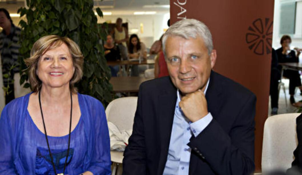 OM SEG SELV: Gerd-Liv Valla og Dagfinn Høybråten skriver om sine liv i hver sin biografi. Foto: Anders Grønneberg