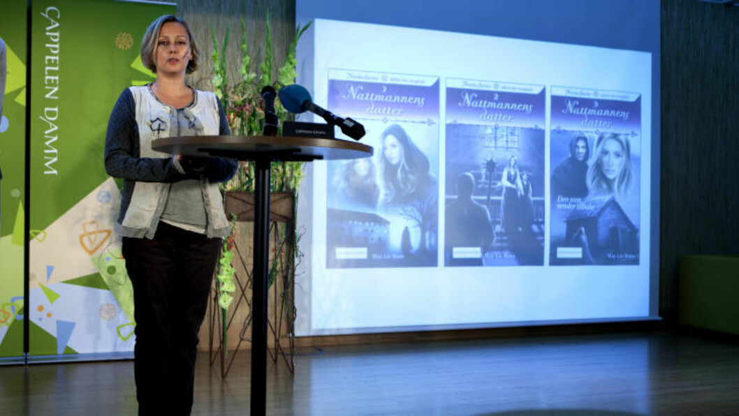 SERIEBOKFORFATTER:  May Lis Ruus med serien «Nattmannens datter». Foto: Anders Grønneberg/ Dagbladet