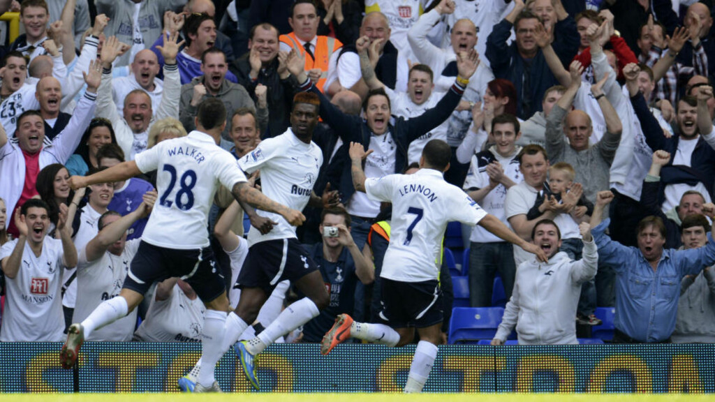 ETTERTRAKTET ALTERNATIV: Med mangel på spisser gleder det trolig Tottenham-fansen at Emmanuel Adebayor returnerer til White Hart Lane. Foto: SCANPIX/REUTERS/Philip Brown