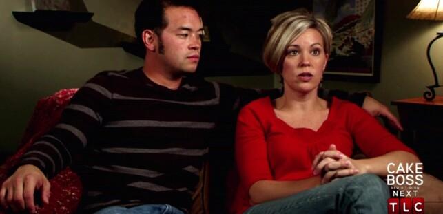 SKILTE SEG: Jon og Kate Gosselin var store stjerner som følge av TLC-programmet om familien deres. I 2009 gikk det derimot skeis for paret. Foto: WENN.com, NTB scanpix