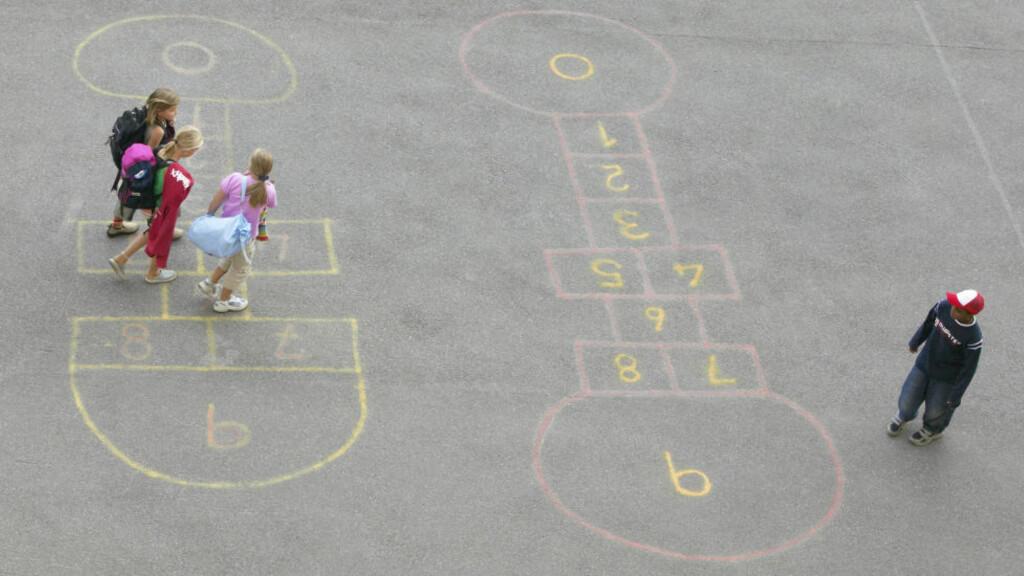 HØYE TALL: Ved enkelte skoler sier over 30 prosent av elevene at de blir mobbet.  Foto: Berit Roald / SCANPIX