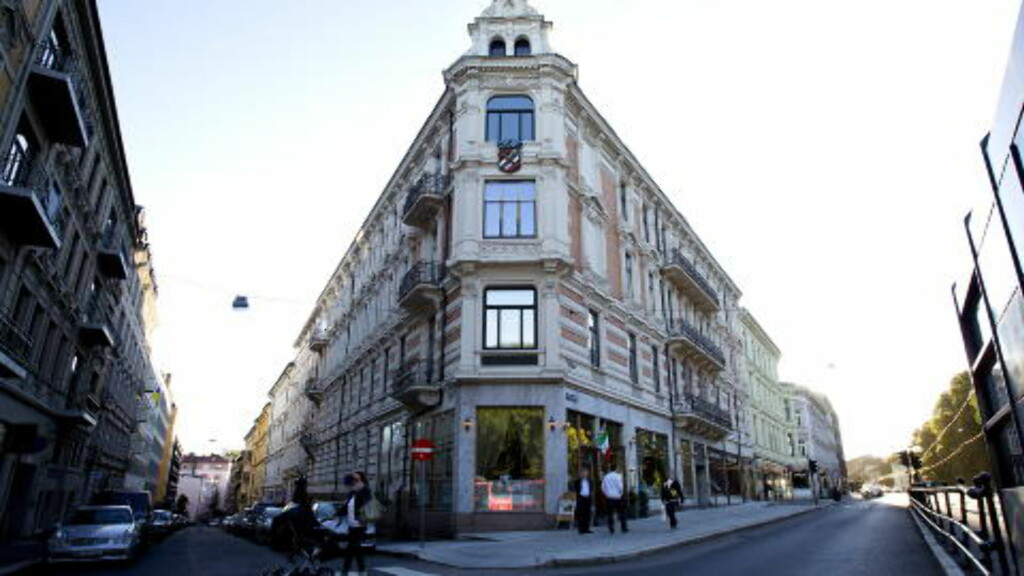 FOR SALG: Arbins gate 1 der Henrik Ibsen hadde leilighet, er lagt ut for salg. Foto: Erling Slyngstad Hægeland / Dagbladet