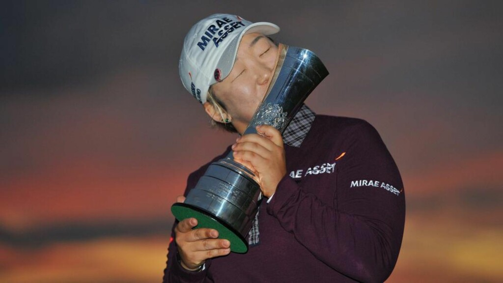 I EGEN KLASSE: Shin Ji-yai vant British Open med formidable ni slags margin. Foto: ANDREW YATES / AFP PHOTO / NTB Scanpix