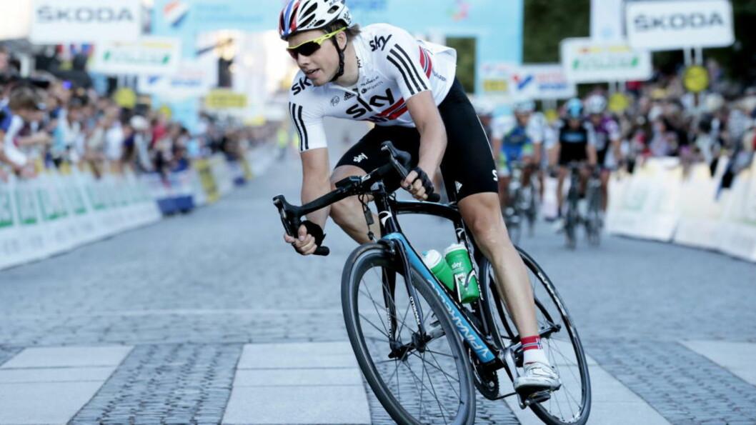 <strong>TIL QATAR:</strong> Edvald Boasson Hagen må til Qatar etter at gulfstaten fikk tildelt verdensmesterskapet i 2016. Foto: Cornelius Poppe / NTB scanpix